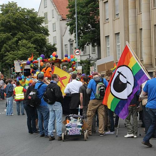 CSD Oldenburg 2012 - Parade - Bild 32