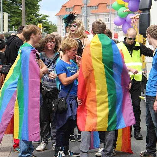 CSD Oldenburg 2012 - Parade - Bild 92