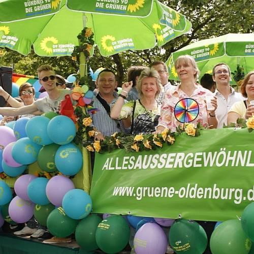 CSD Oldenburg 2012 - Parade - Bild 196