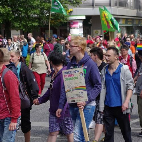 CSD Kiel 2014 Demonstration - Bild 9