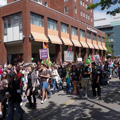 CSD Kiel 2014 Demonstration - Bild 2