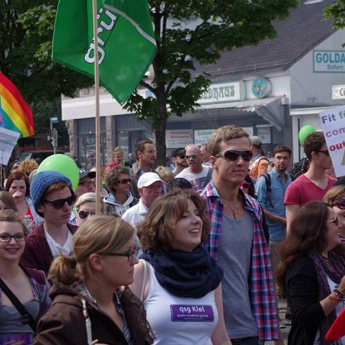 CSD Kiel 2014 Demonstration - Bild 34