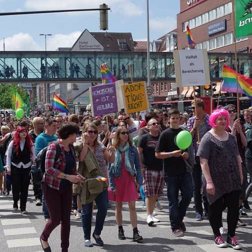 CSD Kiel 2014 Demonstration - Bild 38