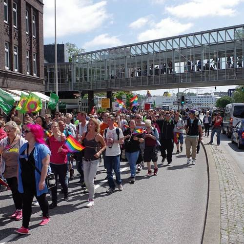 CSD Kiel 2014 Demonstration - Bild 40