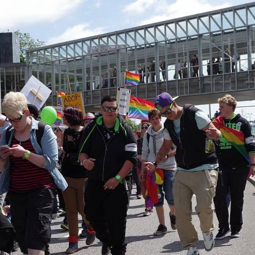 CSD Kiel 2014 Demonstration - Bild 42