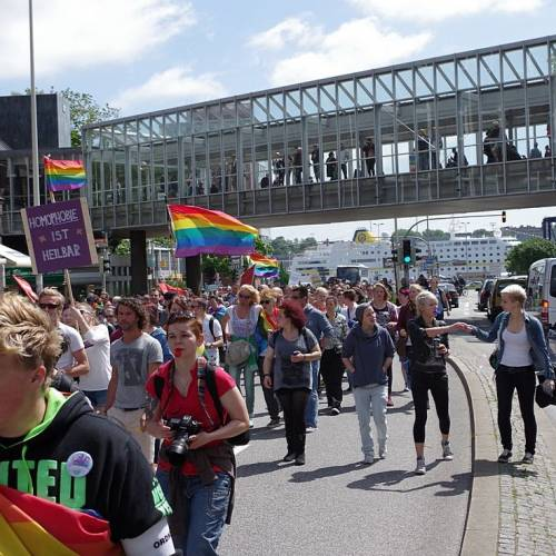 CSD Kiel 2014 Demonstration - Bild 43