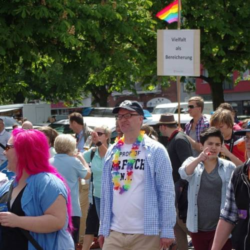 CSD Kiel 2014 Demonstration - Bild 45