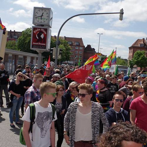 CSD Kiel 2014 Demonstration - Bild 53