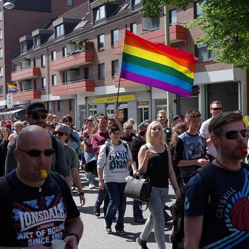 CSD Kiel 2014 Demonstration - Bild 55