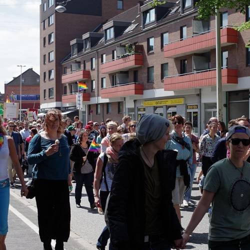 CSD Kiel 2014 Demonstration - Bild 56
