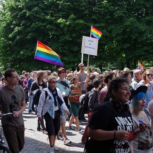CSD Kiel 2014 Demonstration - Bild 62