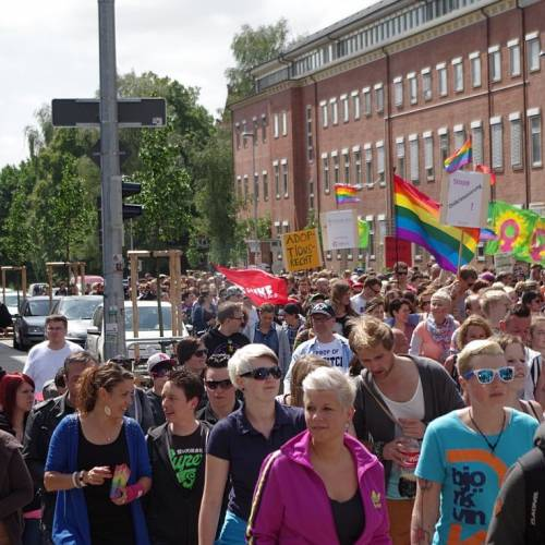 CSD Kiel 2014 Demonstration - Bild 66