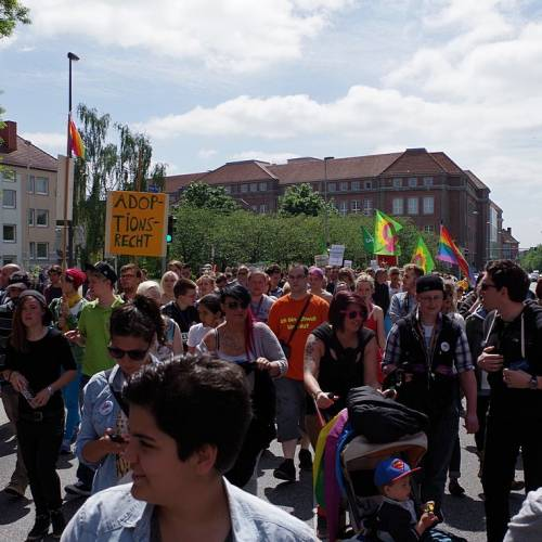 CSD Kiel 2014 Demonstration - Bild 6