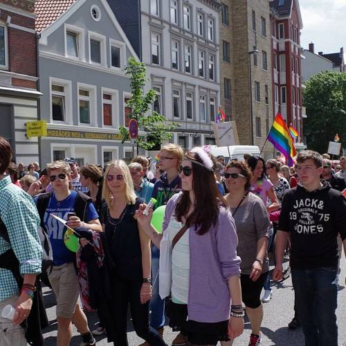 CSD Kiel 2014 Demonstration - Bild 74