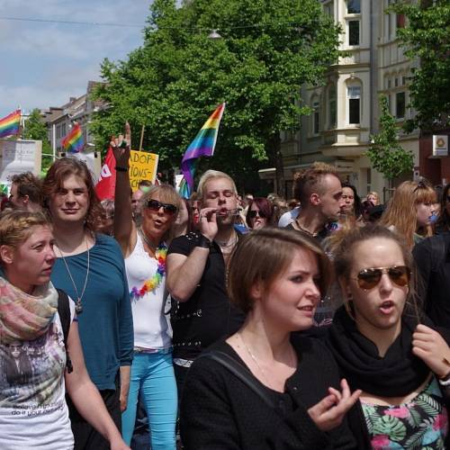 CSD Kiel 2014 Demonstration - Bild 91