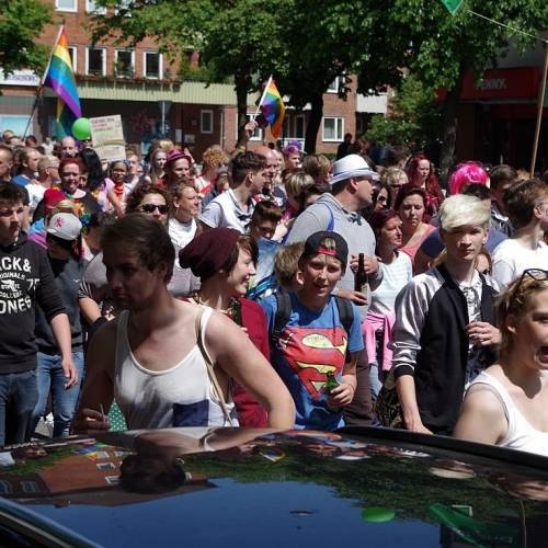 CSD Kiel 2014 Demonstration - Bild 93