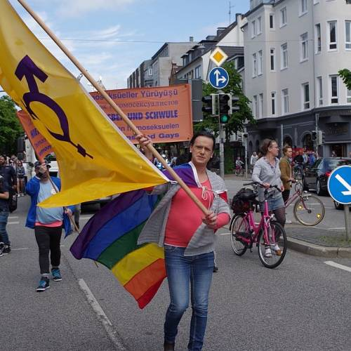 CSD Kiel 2014 Demonstration - Bild 94