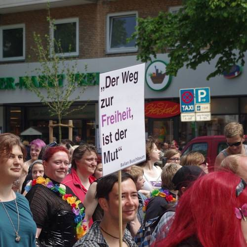 CSD Kiel 2014 Demonstration - Bild 98