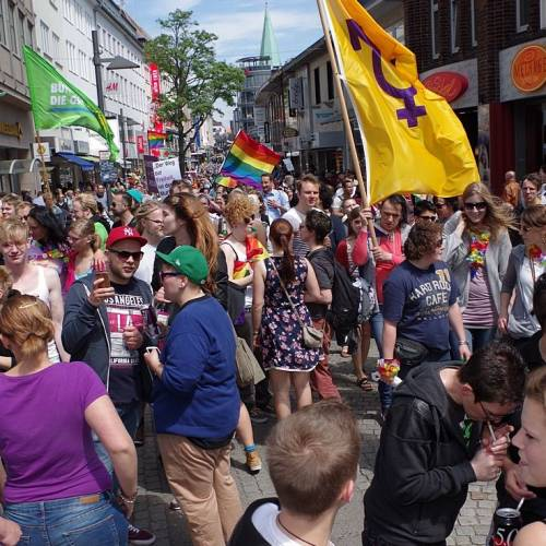 CSD Kiel 2014 Demonstration - Bild 130