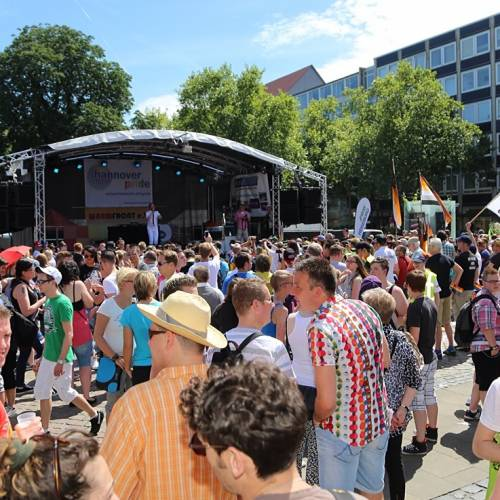 CSD Hannover Demonstration - Bild 38