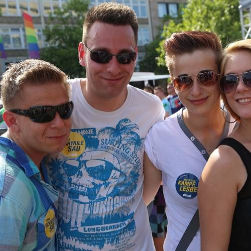 CSD Hannover Demonstration - Bild 201