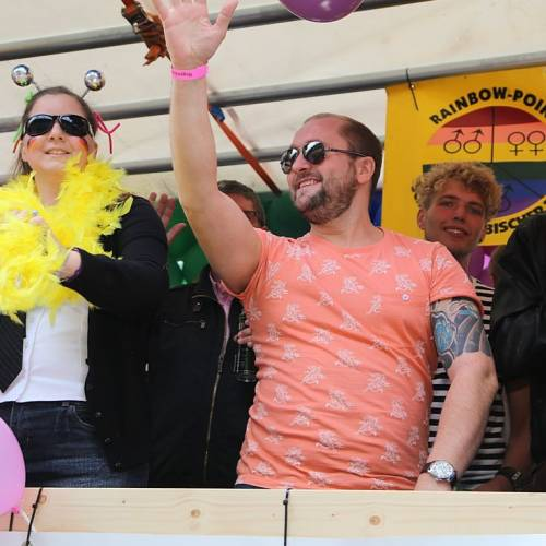 CSD Oldenburg 2014 Demonstration & Straßenfest - Bild 61