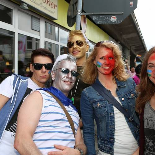 CSD Oldenburg 2014 Demonstration & Straßenfest - Bild 81