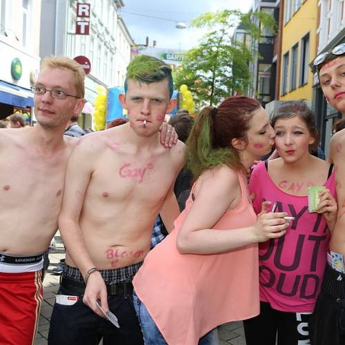 CSD Oldenburg 2014 Demonstration & Straßenfest - 1867x betrachtet