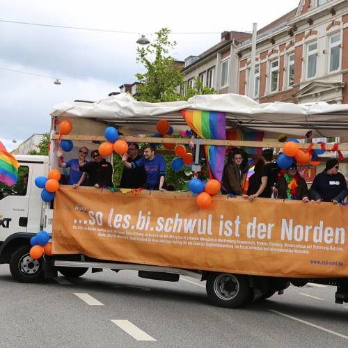 CSD Kiel Demonstration & Strassenfest - 1190x betrachtet