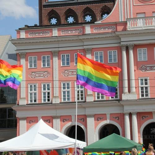 CSD Rostock Demonstration & Strassenfest  - Bild 9