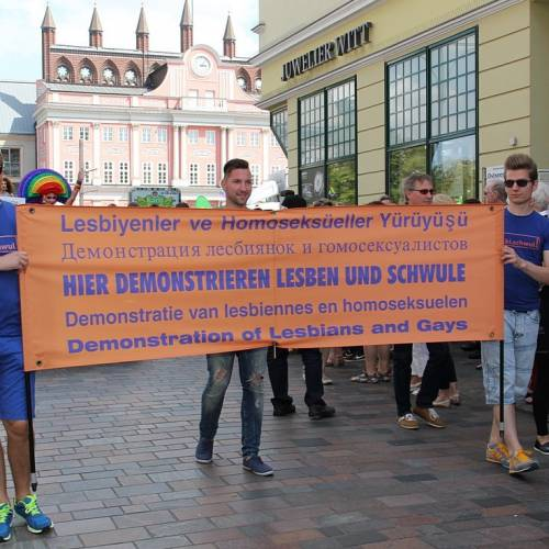 CSD Rostock Demonstration & Strassenfest  - Bild 8