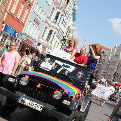CSD Rostock Demonstration & Strassenfest  - Bild 52