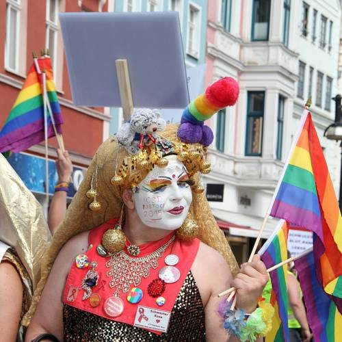 CSD Rostock Demonstration & Strassenfest  - Bild 61