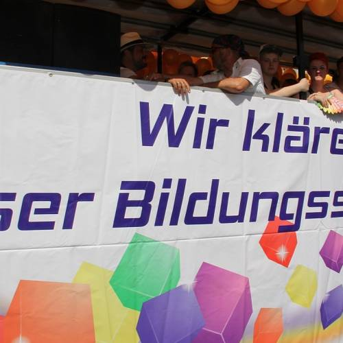 CSD Rostock Demonstration & Strassenfest  - Bild 65