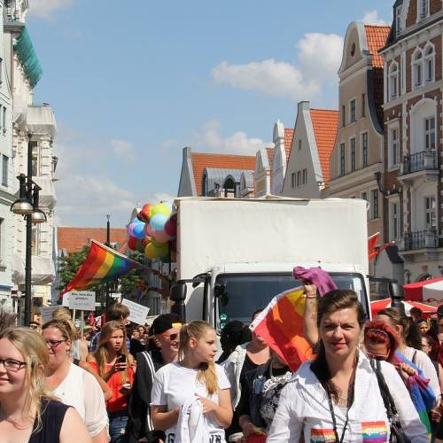 CSD Rostock Demonstration & Strassenfest  - Bild 68