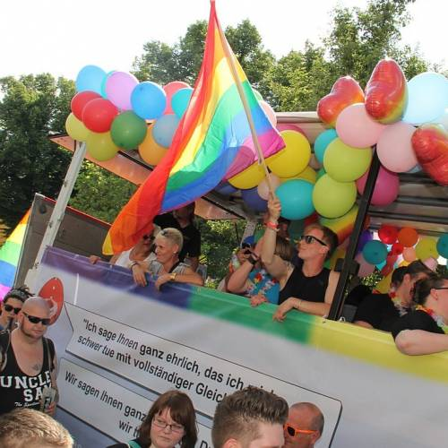 CSD Rostock Demonstration & Strassenfest  - Bild 71