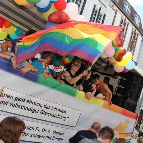 CSD Rostock Demonstration & Strassenfest  - Bild 73