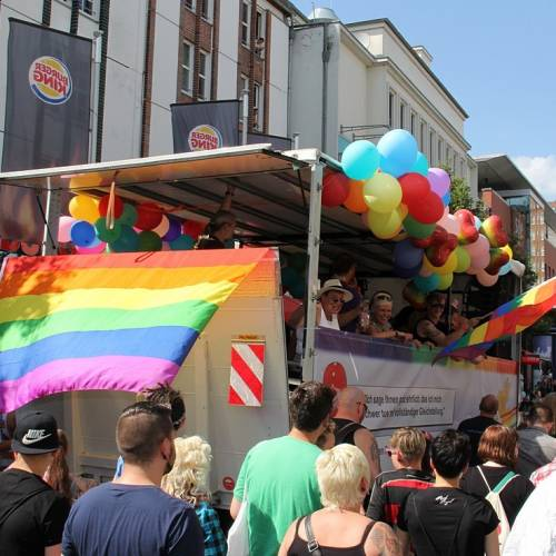 CSD Rostock Demonstration & Strassenfest  - Bild 74