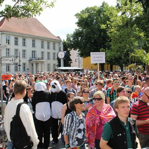 CSD Rostock Demonstration & Strassenfest  - Bild 75