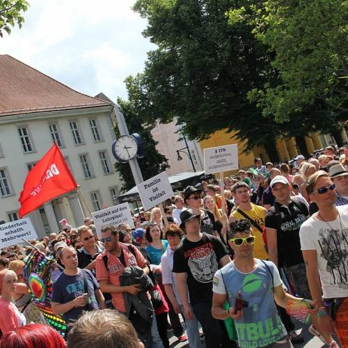 CSD Rostock Demonstration & Strassenfest  - Bild 84