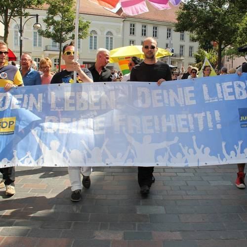 CSD Rostock Demonstration & Strassenfest  - Bild 93