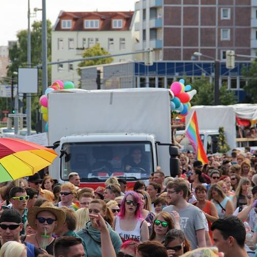 CSD Rostock Demonstration & Strassenfest  - Bild 5