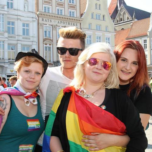 CSD Rostock Demonstration & Strassenfest  - Bild 7