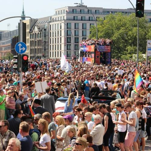 Hamburg Pride Demonstration 2 - Bild 8