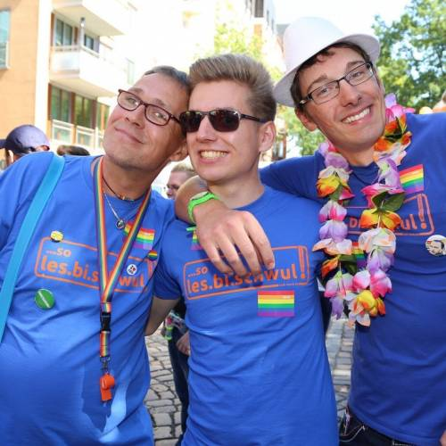 Hamburg Pride Demonstration 1 & Strassenfest - Bild 9