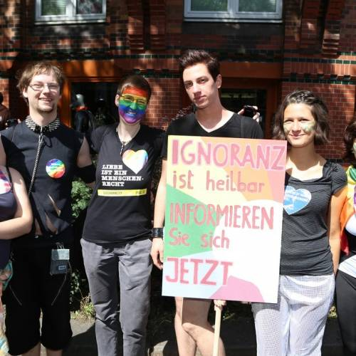Hamburg Pride Demonstration 1 & Strassenfest - Bild 32