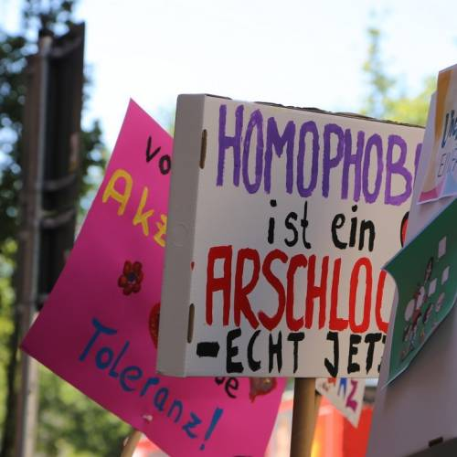 Hamburg Pride Demonstration 1 & Strassenfest - Bild 90