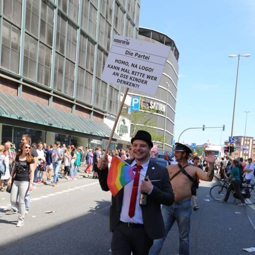 Hamburg Pride Demonstration 1 & Strassenfest - 1768x betrachtet