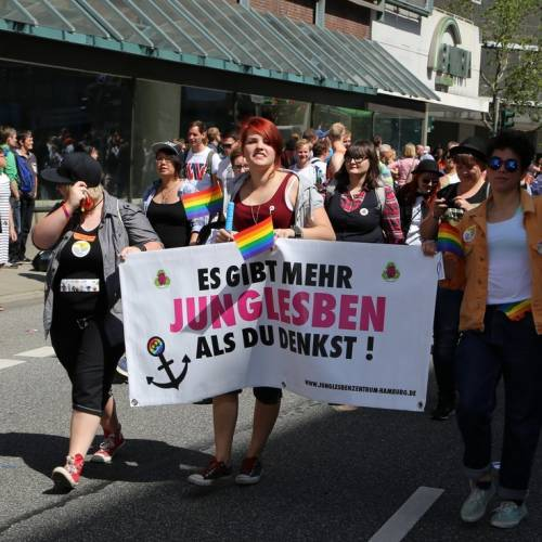 Hamburg Pride Demonstration 1 & Strassenfest - Bild 272