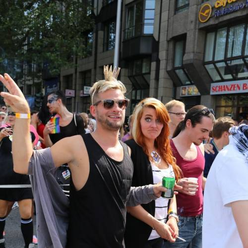 Hamburg Pride Demonstration 1 & Strassenfest - Bild 5